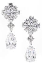 Nina Women's Cluster Drop Earrings