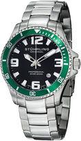 Stuhrling Original Mens Silver Tone Bracelet Watch-Sp12721