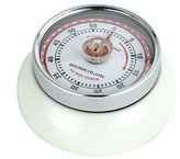 Eddingtons Magnetic Retro Timer - Ivory / Cream 60 Minute Timer