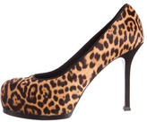 Saint Laurent Ponyhair Tribute Two Pumps