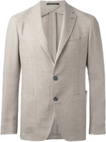 Tagliatore single breasted blazer - men - Linen/Flax/Cupro/Virgin Wool - 50