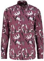 Whyred Shirt bleached burgundy