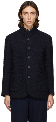 Blue Blue Japan Navy Wool Tataki Jacket