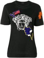 Versace Medusa head T-shirt - women - Cotton - 36
