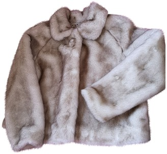 Twin-Set Twin Set Brown Faux fur Coat for Women