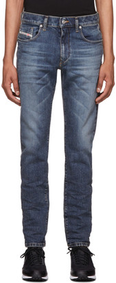 Diesel Blue D-Strukt Washed Jeans