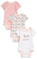 Skip Hop Infant Girl's Boho 3-Pack Bodysuits