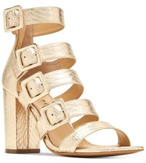 Katy Perry Lizette Block Heel Dress Sandals Women's Shoes