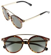 A. J. Morgan A.J. Morgan 'Loop' 50mm Retro Sunglasses