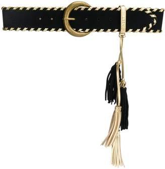 Twin-Set gold detail trimmed belt