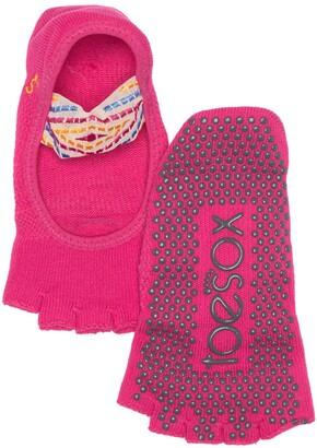 Toesox Half Toe Mia Grip Socks