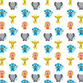 Wall Candy Arts WallCandy Arts French Bull Jungle Party Wallpaper