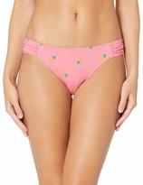 Amazon Essentials Women's Side Tab Bikini Swimsuit Bottom