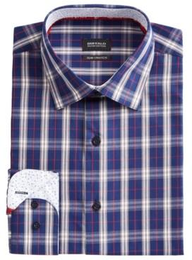 Buffalo David Bitton Men's Slim-Fit Yarn-Dyed Plaid Dress Shirt