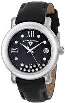 Swiss Legend Women's 22388-01 Diamanti Analog Display Swiss Quartz Black Watch