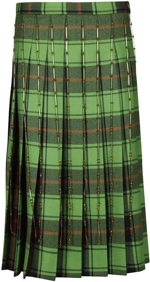 Marco De Vincenzo Pleated Skirt