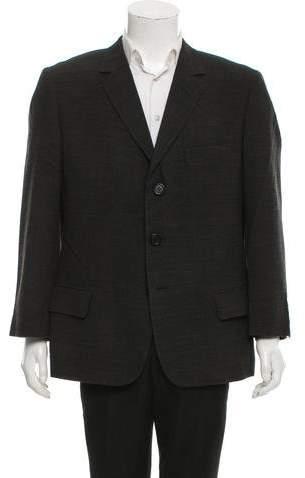 Dolce & Gabbana Wool Blend Three Button Blazer