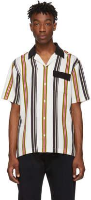 Saturdays NYC White Xavier Short Sleeve Shirt