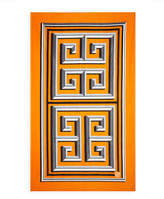 Jonathan Adler Greek Key Beach Towel, Orange