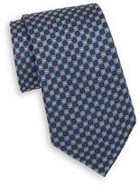 Saks Fifth Avenue Circle Silk Tie