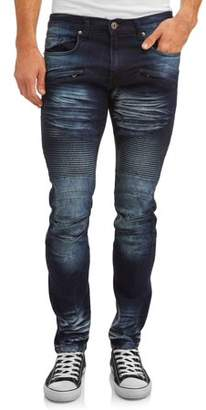 Modern Culture Men's Slim Fit Stretch Moto Highway Jean