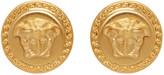 Versace Gold Medusa Earrings