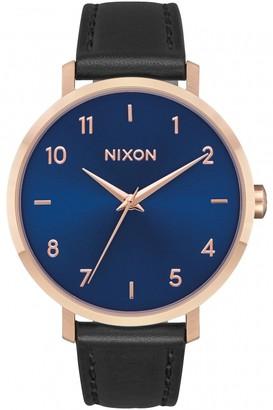 Nixon Ladies The Arrow Leather Watch A1091-2763