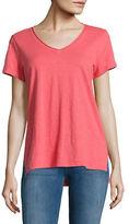 Eileen Fisher V-Neck Organic Cotton T-Shirt