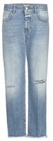 Closed Jay Mid-rise Boyfriend distressed jeans