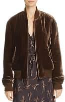 Vince Velvet Bomber Jacket