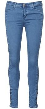Acquaverde ALFIE women's Skinny Jeans in Blue