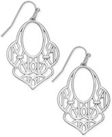 Vera Bradley Signature Contoured Filigree Drop Earrings