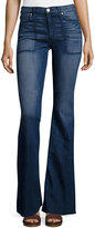 McGuire Harlow High-Rise Flare Jeans, Bryant Blue