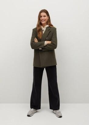 MANGO Suit-jacket style coat