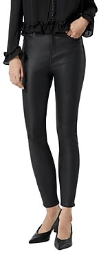 The Kooples Coated Jeans in Black