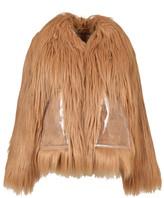 Maison Margiela Faux-Fur Short Coat