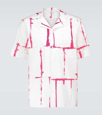 Valentino Jelly Block print cotton shirt