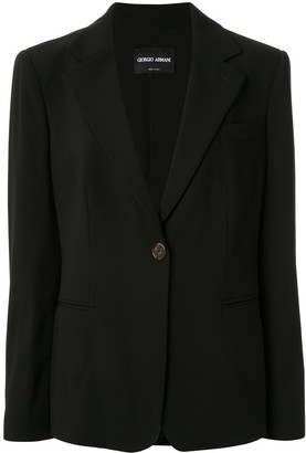 Giorgio Armani Oversized Tailored Blazer