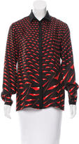 Etro Silk Printed Top