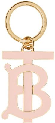 Burberry Monogram Motif Gold-plated Key Charm