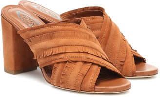 Tod's Fringed suede sandals