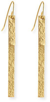 Stephanie Kantis Hammered Column Duo Earrings