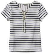 Women striped nautical tee shopstyle for Striped french sailor shirt