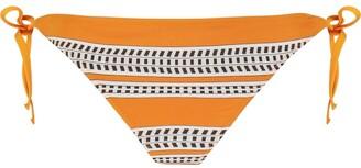 Lemlem Stripe-Print Bikini Briefs