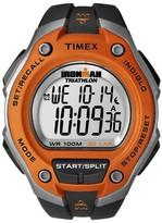 Timex Men's Ironman® Classic 30 Lap Digital Watch - Black/Orange T5K529JT