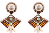 Geometric Tribal Statement Earrings