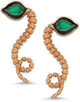 Dragon Optical Selda Jewellery Baby Emerald Earrings