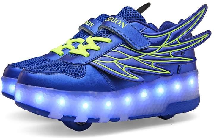 unyielding1 LED Light up Shoes Flashing Sneakers Kids Boys Girls