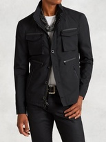 John Varvatos 4-Pocket Water Repellent Jacket