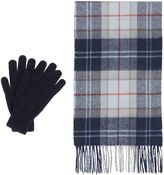 Barbour Scarf and Glove Gift Set